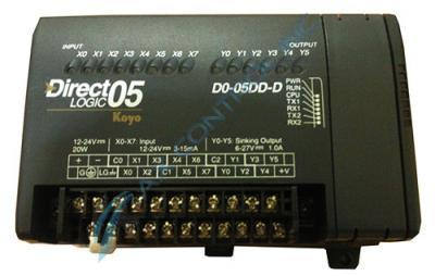 In Stock! Automation Direct Koyo PLC Direct 8 DC Input 6 DC Output PLC DC Power Supply. Call Now!  