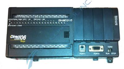In Stock! Automation Direct Koyo PLC Direct 20 DC Input 16 DC Sink Output with DC Power Supply. Call