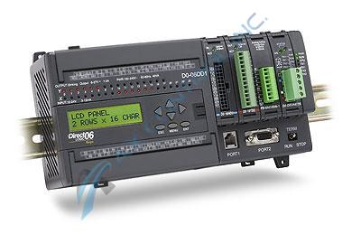 In Stock! Automation Direct Koyo PLC Direct 20 DC Input 16 DC Source Output with DC Power Supply. Ca