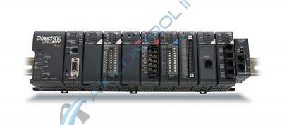 In Stock! Automation Direct Koyo PLC Direct 6 Slot Base with Internal 125VDC Power Supply. Call Now!