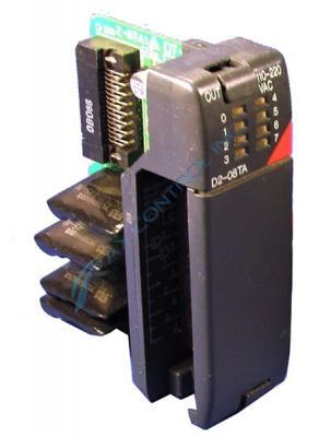 In Stock! Automation Direct Koyo PLC Direct 8 Point 18-220 VAC Output Module. Call Now! | Image