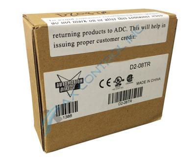 Automation Direct - DirectLogic 205 - D2-08TR