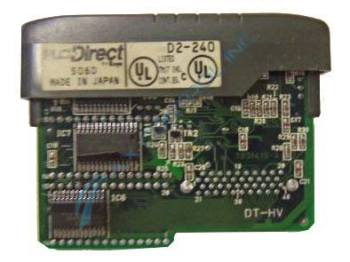 In Stock! Automation Direct Koyo PLC Direct CPU 3.8K Words w/2 RS232 Ports Module. Call Now! | Image