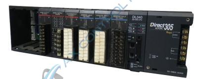 In Stock! Automation Direct Koyo PLC Direct 10 Slot Base Local 24 VDC. Call Now! | Image