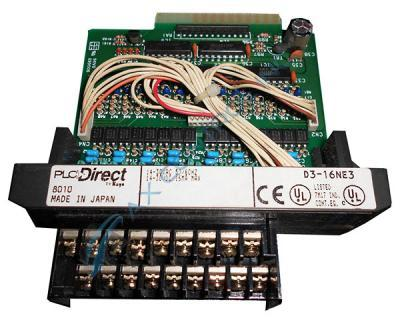 In Stock! Automation Direct Koyo PLC Direct 16 Point 24VAC VDC Sink Source Input. Call Now! | Image
