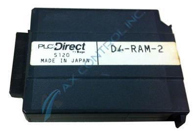 In Stock! Automation Direct Koyo PLC Direct 15.5 K RAM Memory Cartridge with Battery. Call Now! | Im