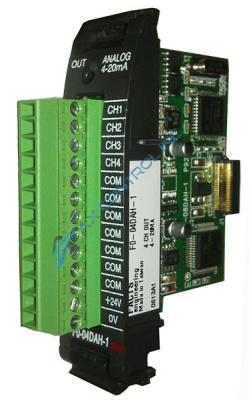 In Stock! Automation Direct Facts Engineering Koyo PLC Direct 4 Channel Analog Output 16 Bit Option