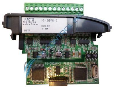 In Stock! Automation Facts Engineering Direct Koyo PLC Direct 8 Channel Analog Option Output Module.
