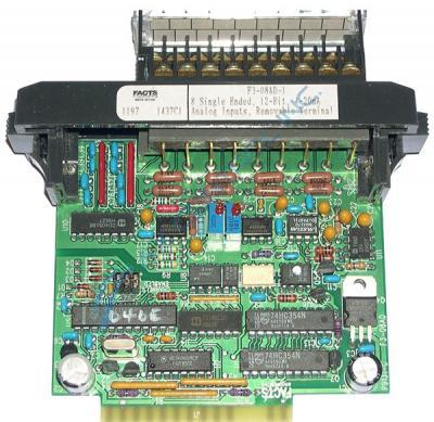 In Stock! Automation Direct Facts Engineering Koyo PLC Direct 8 Channel Analog Current Input Module.
