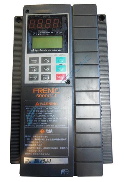 frn3 7g11s 4 in stock fuji electric frenic 5000g11 3ph 460v 400hz rh axcontrol com